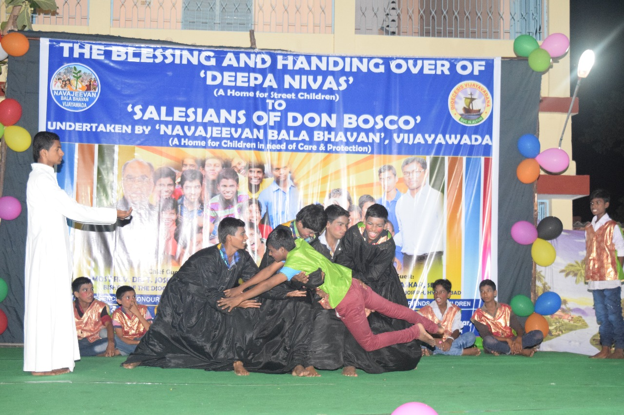 THE BLESSING AND HANDING OVER OF DEEPA NIVAS