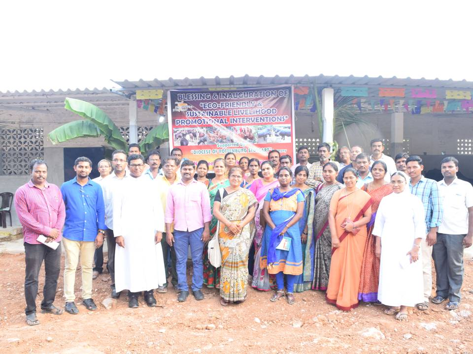 Blessing & Inauguration of Cattle Shed in Vimkthi
